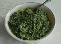 Photo of Creamed Spinach